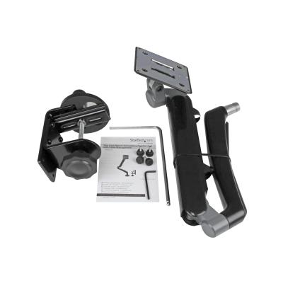 """StarTech.com Desk Clamp Monitor Mount - Adjustable - Supports Monitors 12"""" to 34"""" - Full Motion Slim VESA Mount Monitor Arm - Desk & Grommet Clamp -Black (ARMSLIM) - mounting kit - for LCD display (adjustable arm)"""