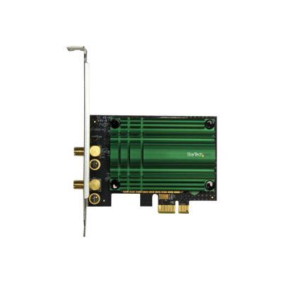 StarTech.com PCI Express AC1200 Dual Band Wireless-AC Network Adapter - PCIe 802.11ac WiFi Card - 2.4 / 5GHz Wireless-AC Card (PEX867WAC22) - network adapter - PCIe ARD AC1200 ADAPTER