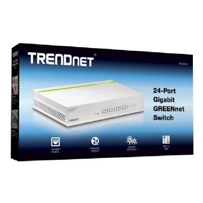 TRENDnet TEG S24D - switch - 24 ports T