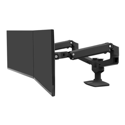 Ergotron LX Dual Side-by-Side Arm - mounting kit - for 2 LCD displays