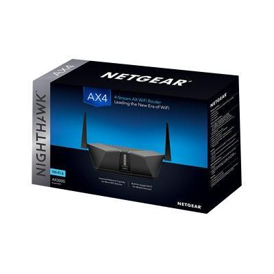 NETGEAR Nighthawk RAX40 - wireless router - 802.11a/b/g/n/ac/ax - desktop  WRLS