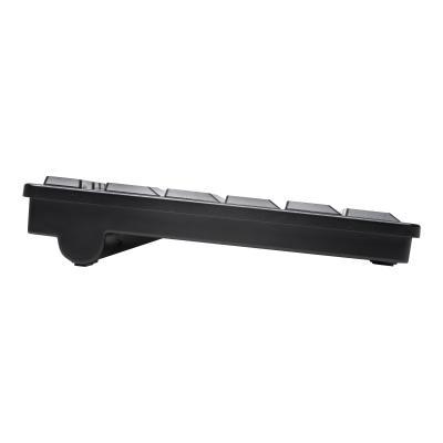 Kensington Pro Fit Low-Profile - keyboard - black  WRLS
