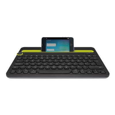 Logitech Multi-Device K480 - keyboard - English - black D BLK