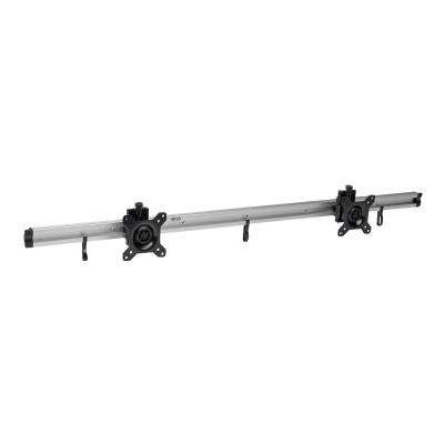 "Tripp Lite Dual Flat-Panel Rail Wall Mount for TVs Monitors 10-24"" Display - mounting kit T FOR TVS MONITORS 1"