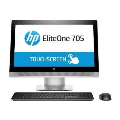 """HP EliteOne 705 G2 - all-in-one - A4 PRO-8350B 3.5 GHz - 4 GB - HDD 500 GB - LED 23"""" - Canadian French (Language: French / region: Canada)  A48350 500G4.0G PC FR"""