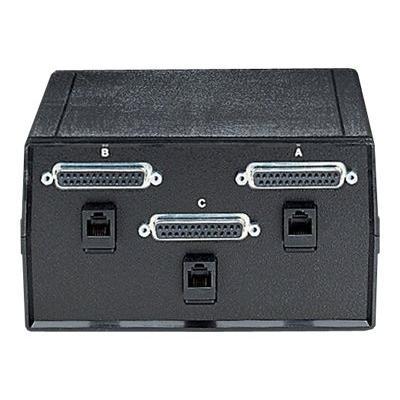 Black Box ABC Dual Switch - commutateur - 2 ports  et rj-11   Châssis