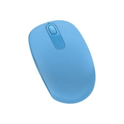 Microsoft Wireless Mobile Mouse 1850 - mouse - 2.4 GHz - cyan blue  WRLS
