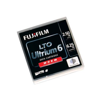 FUJIFILM LTO Ultrium G6 - LTO Ultrium WORM 6 x 1 - 2.5 TB - storage media  SUPL