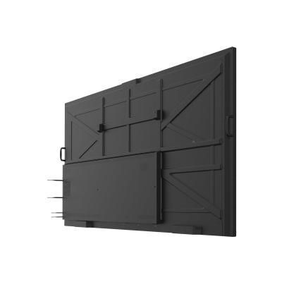 "ViewSonic ViewBoard IFP9850 Chrome Bundle 2 98"" Class (97.5"" viewable) LED display - 4K FI-001  NMP660   and VB-STND-0 01"