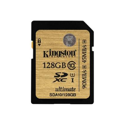 Kingston Ultimate - flash memory card - 128 GB - SDXC  FLSH