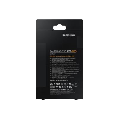 Samsung 870 QVO MZ-77Q8T0B - solid state drive - 8 TB - SATA 6Gb/s ERNAL SSD