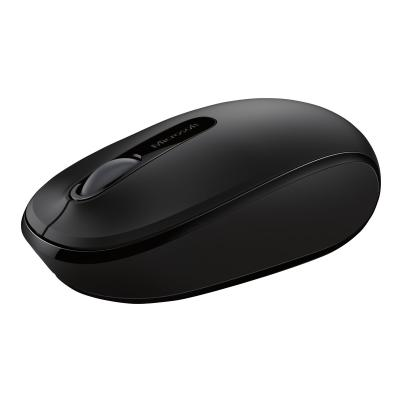 Microsoft Wireless Mobile Mouse 1850 for Business - mouse - 2.4 GHz - black  WRLS