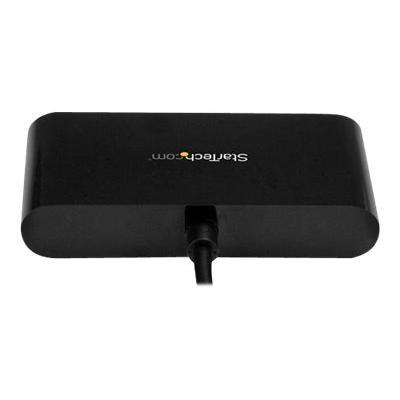 StarTech.com 4-Port USB-C Hub - USB-C to 4x USB-A Hub Adapter - Mini USB 2.0 Hub - Bus-powered USB Type-C Port Expander (ST4200MINIC) - hub - 4 ports SB Type C or Thunderbolt 3 lap top such as your Mac