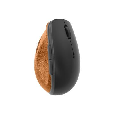 Lenovo Go - mouse - 2.4 GHz - storm gray with natural cork