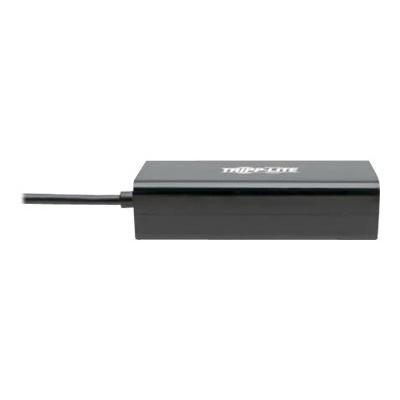 Tripp Lite USB 2.0 Hi-Speed to Gigabit Ethernet NIC Network Adapter White 10/100 Mbps - network adapter - USB 2.0 - 10/100 Ethernet k Adapter  10/100 Mbps s