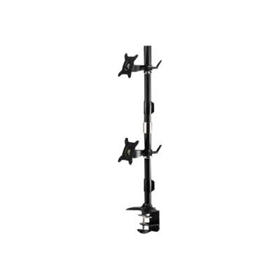 Amer AMR2CV - stand (Tilt & Swivel) rts up to two 24 LED/LCD monit ors  each weighing u
