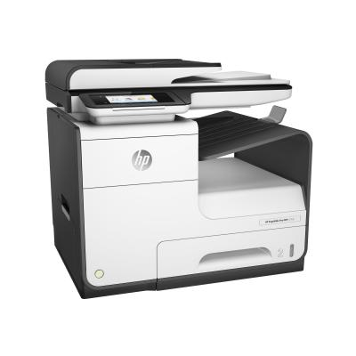 HP PageWide Pro 477dn - multifunction printer - color (English, French, Spanish / Canada, United States)