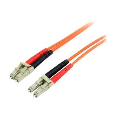 StarTech.com 10m Fiber Optic Cable - Multimode Duplex 62.5/125 - LSZH - LC/LC - OM1 - LC to LC Fiber Patch Cable (FIBLCLC10) - patch cable - 10 m - orange  CABL