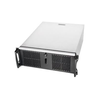 Chenbro RM41300 - rack-mountable - 4U - extended ATX  21.5in CHassis only  with ODD  cage 8025x2 rear fa