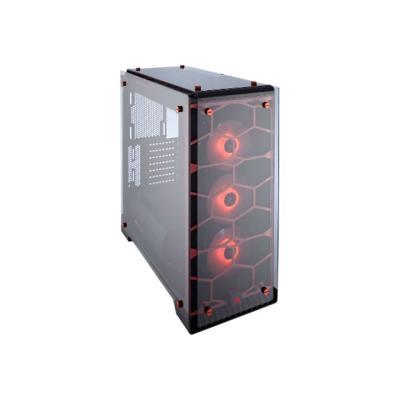 CORSAIR Crystal Series 570X RGB - tower - ATX B Tempered Glass  Premium ATX Mid-Tower Case  RED