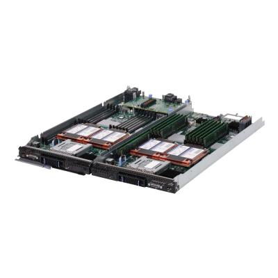 Lenovo Flex System x222 Compute Node - blade - Xeon E5-2420 1.9 GHz - 16 GB - no HDD (Language: English)  6C 1.9GHz 15MB 1333MHz 95W 00 D1264 2x 8 GB 2Rx4 (