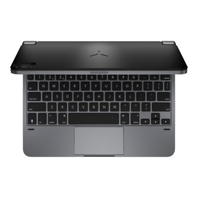 Brydge 11.0 PRO+ - keyboard - with trackpad - QWERTY - space gray AD FOR IPAD PRO 11 1-Year ad