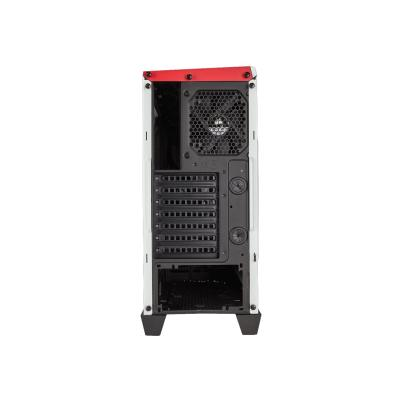 CORSAIR Carbide Series SPEC-ALPHA - tower - ATX PHA Mid-Tower Gaming Case  Whi te & Red