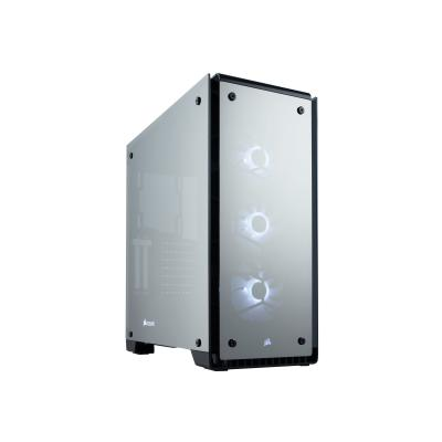 CORSAIR Crystal Series 570X RGB - tower - ATX B Mirror Black Tempered Glass  Premium ATX Mid Tow