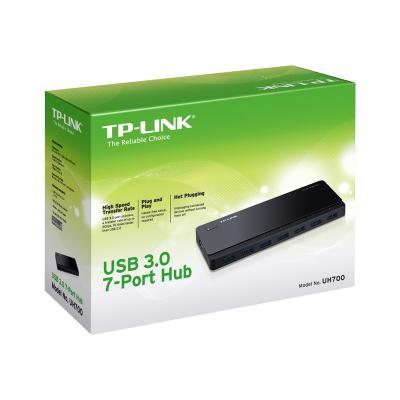 TP-Link UH700 - hub - 7 ports  ADAPTER