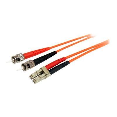 StarTech.com 7m Fiber Optic Cable - Multimode Duplex 62.5/125 - LSZH - LC/ST - OM1 - LC to ST Fiber Patch Cable (FIBLCST7) - patch cable - 7 m - orange ECABL