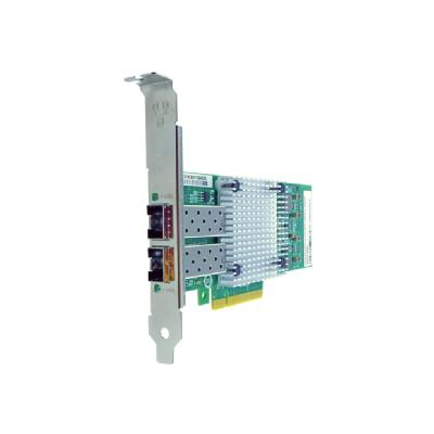 Axiom - network adapter - PCIe 2.0 x8 - 10 Gigabit SFP+ x 2 e x8 NIC Card for HP - 614203- B21