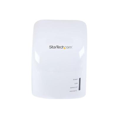 StarTech.com AC750 Dual Band Wireless-AC AP, Router & Repeater - Wall Plug - wireless router - 802.11a/b/g/n/ac - wall-pluggable (North America, United Kingdom, Europe) S EXTENDER- WALL PLU