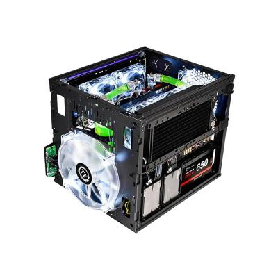 Thermaltake Core V21 - tower - micro ATX e Window Liquid Cooling Suppor ted  5 expansion slo