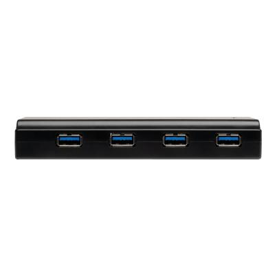 Tripp Lite 7-Port USB 3.0 Hub SuperSpeed with Dedicated 2A USB Charging iPad Tablet - hub - 7 ports with USB Charging d2