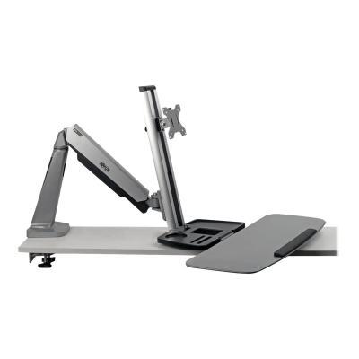 Tripp Lite WorkWise Desk-Mounted Workstation, Single Display - mounting kit - for LCD display / keyboard NDING DESK