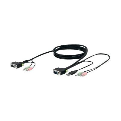 Belkin SOHO Series Replacement Cable - keyboard / video / mouse (KVM) cable - 3 m - B2B L  10 FT