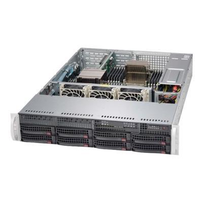 Supermicro SC825 TQC-600WB - rack-mountable - 2U - enhanced extended ATX  RM