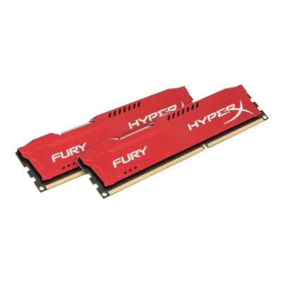 HyperX FURY - DDR3 - 8 GB: 2 x 4 GB - DIMM 240-pin - unbuffered R3  1333MHz  CL9  1.5V  240-pi n DIMM  kit of 2