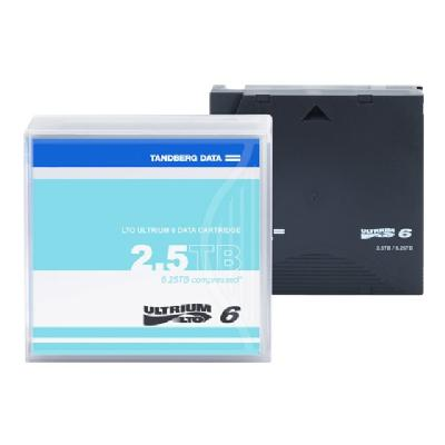 Tandberg - LTO Ultrium x 1 - 2.5 TB - storage media ge