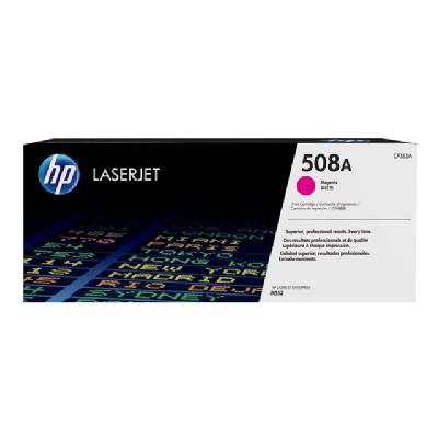HP 508X - High Yield - magenta - original - LaserJet - toner cartridge (CF363X) RTRIDGE