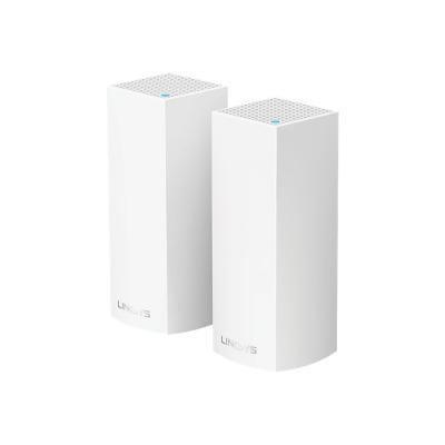 Linksys VELOP Whole Home Mesh Wi-Fi System WHW0302 - Wi-Fi system - Bluetooth 4.0, 802.11b/g/n/ac - desktop (Canada) stem AC4400