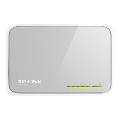 TP-Link TL-SF1005D 5-Port 10/100Mbps Desktop Switch - switch - 5 ports een Switch  2 years warranty