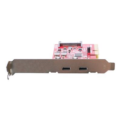 IOGEAR GIC3C2 - USB adapter - PCIe 3.0 x4 - USB-C 3.1 Gen 2 x 2 - TAA Compliant press Card (TAA)