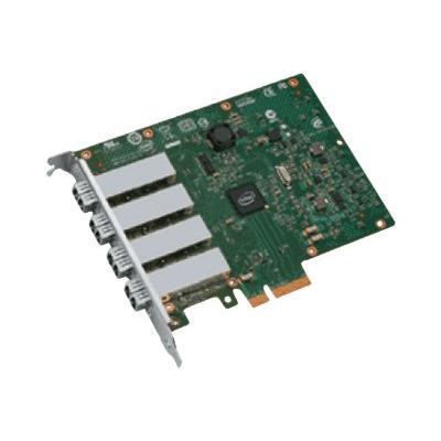 Intel Ethernet Server Adapter I350-F4 - network adapter - PCIe 2.0 x4 - 1000Base-SX x 4 dapter  4x LC Fiber Optic Port s  PCIe v2.1 x4 Inte