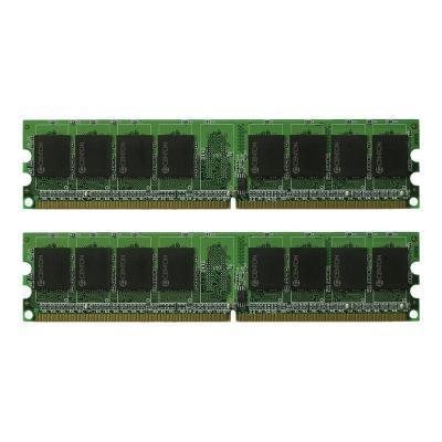 Centon memoryPOWER - DDR2 - 4 GB: 2 x 2 GB - DIMM 240-pin - unbuffered NMEM