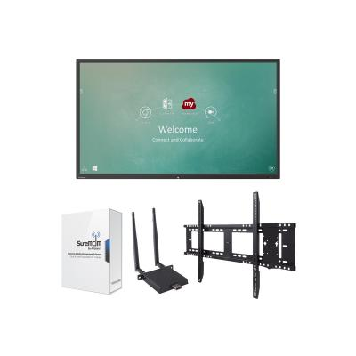 "ViewSonic ViewBoard IFP9850 Device Management Bundle 1 98"" Class (97.5"" viewable) LED display - 4K -072"