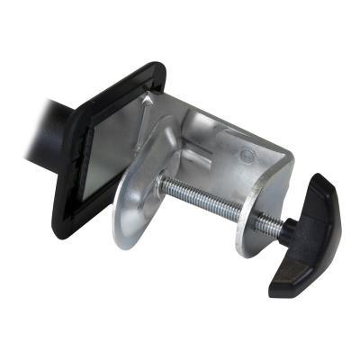 "StarTech.com Desk Mount Monitor Arm - Full Motion Articulating - Monitors 12"" to 34"" Adjustable VESA Single Monitor Arm - Desk & Grommet Clamp - Black (ARMPIVOTE) - mounting kit  MNT"