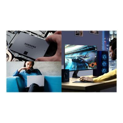 Samsung 870 QVO MZ-77Q4T0B - solid state drive - 4 TB - SATA 6Gb/s ERNAL SSD
