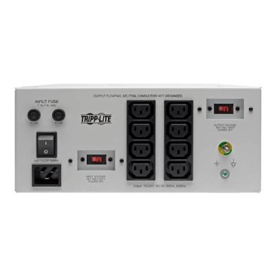 Tripp Lite Isolator Series Dual-Voltage 115/230V 1800W 60601-1 Medical-Grade Isolation Transformer, C20 Inlet, 8 C13 Outlets - transformer - 1800 Watt - 1800 VA  CPNT