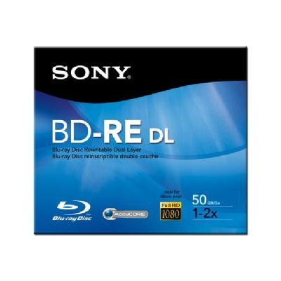 Sony BNE50RH - BD-RE DL - 50 GB - storage media  BARE DISC